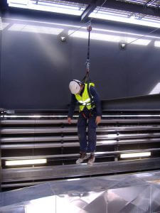 Abantos Vertical sistemas anti-caidas