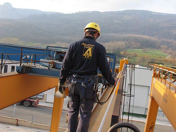 Abantos Vertical | Sistemas anti-caídas horizontales
